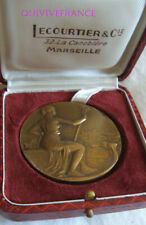 MED11009 - MEDAILLE COMMERCE MARSEILLE CONCOURS DE VITRINES 1958 LAMOURDEDIEU