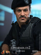 EXPENDABLES 2~BARNEY ROSS / SYLVESTER STALLONE~SIXTH SCALE FIGURE~HOT TOYS~MIB