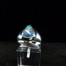 Ring Gr. 57 Silber 925 mit Edelopal aus Äthiopien