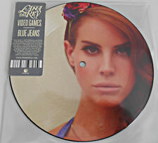 "Lana Del Rey - Video Games/Blue Jeans Limited Edition Vinyl 7"" Picture Disc New!"