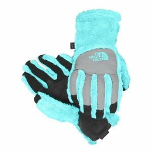 NWT - THE NORTH FACE Youth 'DENALI THERMAL ETIP' TNF Blue GLOVES - M