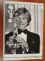 Vtg Wire AP Press Photo Robert Redford Ordinary People Academy Award Oscar #3