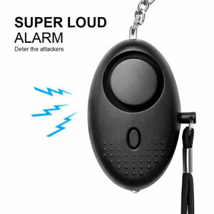 Safety Security Alarm Panic Rape Attack 140db Police Keyring Approved Personal