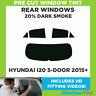 Pre Cut Window Tint - Hyundai i20 5-door Hatchback 2015+ - 20% Dark Rear