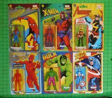 2021 Hasbro - Retro Marvel Legends - 3.75 Action Figures -  Set of 6