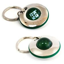 UFO Spinner Ball Geocoin / Key Ring For Geocaching