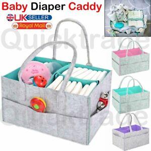 Diaper Storage Baby Caddy Bag Organizer Felt Nappy Changing Kids Carrier Nursery