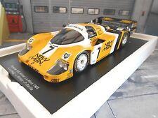 PORSCHE 956L 956 Joest New Man #7 Ludwig Winter Le Mans Winner 1985 Spark 1:18