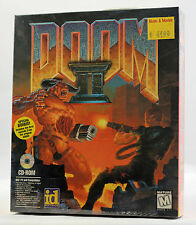 Vintage iD Software / GT Doom II 2 Bonus MS-DOS Big Box MINT Sealed  Ultra RARE