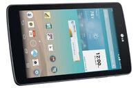NEW LG G Pad V410 GSM Unlocked (AT&T) 7-Inch IPS Quad Core 4G LTE 16GB Tablet