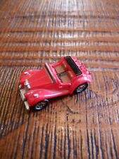 micro machines voiture ancienne cabriolet rouge