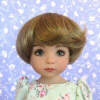 Monique BEBE Str. Blond Full Cap Doll Wig Size 7-8 Short Bob  Little Darling Sz.