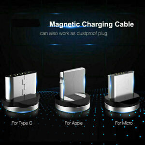 3 in 1 Magnetic Fast Charger Plug only for USB-Type C,Micro,iphone