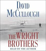 THE WRIGHT BROTHERS David McCullough AUDIOBOOK on CDs NEW audio flight history