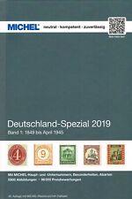 MICHEL CATALOGO GERMANIA SPECIALIZZATO VOLUME 1 2019 Deutschland Spezial