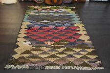 nr 1149 Handgewebter VINTAGE Teppich KURDISTAN NOMADEN KILIM KELIM ca 170 x 100