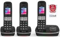 TELSTRA 3 HANDSET'S Call Guardian 301 Qaltel CORDLESS HOME PHONES, ANS/MACHINE