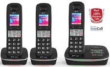 TELSTRA 3 HANDSET'S Call Guardian 301 Qaltel CORDLESS HOME PHONES ANS/MACHINE