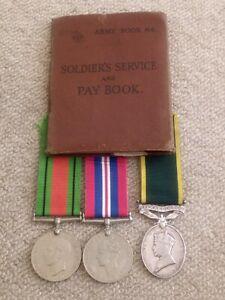 Territorial Efficiency Medal Group PTE J Pattinson Durham Light Infantry AB64