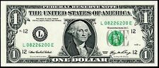 2006 $1 FRN (( Birthday Note )) August 22, 1962 Uncirculated # L08226200A