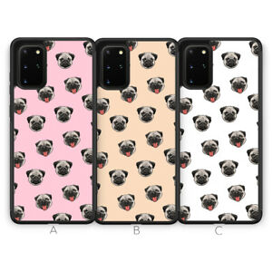 For Samsung S21 Plus Ultra S20 FE S10 NOTE Phone Case Pug Dog Animal Pet Cute