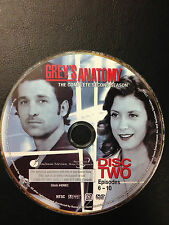 Grey's Anatomy - Season 2 Disc 2 Only (DVD, 2006, )DVD Disc Only - Replacement D