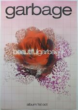 GARBAGE Shirley Manson Beautiful Garbage Rare Official UK Record Company POSTER