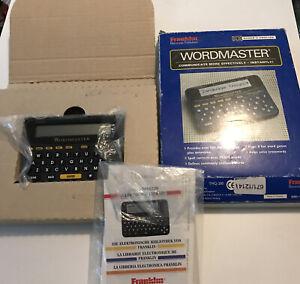 Franklin Electronic Wordmaster Spellchecker Thesaurus TMQ-200