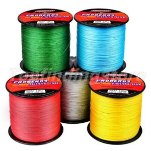Multicolor Super Strong 300M Spectra Braided Line PE 4 Strand Sea Fishing Line