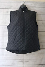 Karen Scott Sport Men's Vest Full Zip Black Size XL