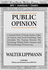 Public Opinion - Unabridged MP3 CD Audiobook in DVD case