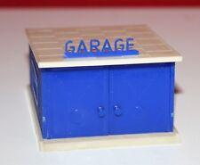 Kleinbahn-H0-seltene blaue Garage-alt