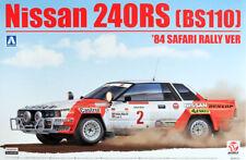 Nissan 240rs bs110'84 Safari Rally 1:24 model kit kit beemax Aoshima 104330