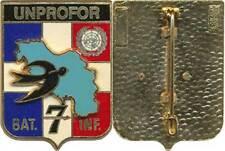 170° Régiment d'Infanterie, BAT INF 7, UNPROFOR, Delsart (0882)