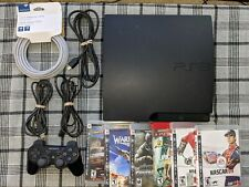 Sony Playstation 3 (PS3) Console Bundle (CECH-3001A): UPGRADED to 500GB 7200RPM!