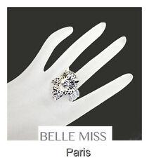 Luxus Ring Damenringe Fingerringe Belle Miss Paris Elastisch Panther Strass
