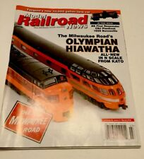 Model Railroad News Magazine Olypian Hiawatha All New In N Scale From Kato