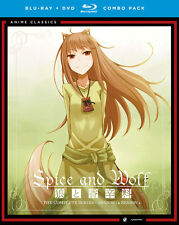 Spice and Wolf: Complete Series (Blu-ray Disc, 2014, 8-Disc) R1 FUNimation Anime