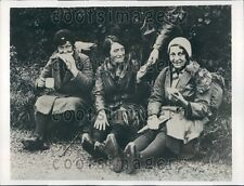 1932 British Hunger Marchers Have Lunch Rugby England Press Photo