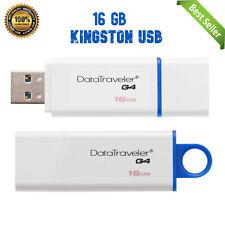 Kingston 16GB 128GB DataTraveler G4 DTIG4 Colorful Flash Pen Drive USB3.0 - US