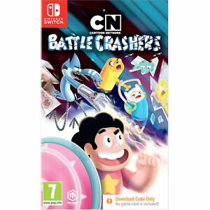 Cartoon Network Battle Crashers NINTENDO SWITCH New and Sealed