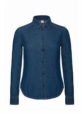 Camisas y tops de mujer de manga larga blusa 100% algodón