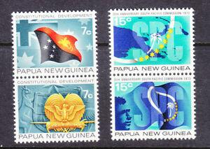 Papua New Guinea 1971/2 2x sets mint no gum