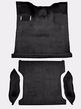 NEW ACC *BLACK* 80-93 FORD BRONCO FULL SIZE COMPLETE MOLDED CARPET - MADE IN USA
