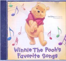 WINNIE POOH Favorite Songs PROMO CD Classic Disney POOH BIRTHDAY BEAR UP DOWN