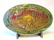 Gasoline Engine 1990 John Deere Waterloo Boy Kerosene Tractor Belt Buckle SEALED
