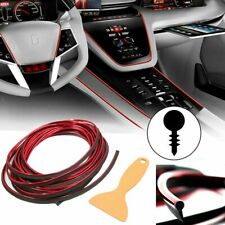 5M Red Line Car Interior Decor Point Edge Gap Door Panel Accessories Molding Usa