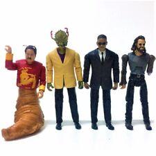 Xmas  Gift  4PCS Men In Black 3 Agent K Boris Stalk Eyes  3.75'' Figure Boy TOY