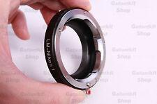 Leica M LM Lens Mount Adapter for Nikon1 Nikon 1 S1 J3 V2 J2 V1 J1 1 NIKKOR