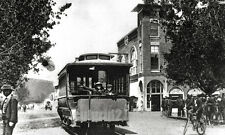 1912 PHOTO KLAMATH FALLS OREGON - Horse Drawn Trolley